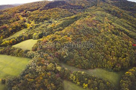 vista aerea drone de colorido maravilloso
