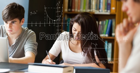 mujer estudio portatil computadoras computadora ordenador