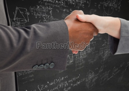 apreton de manos contra la pared