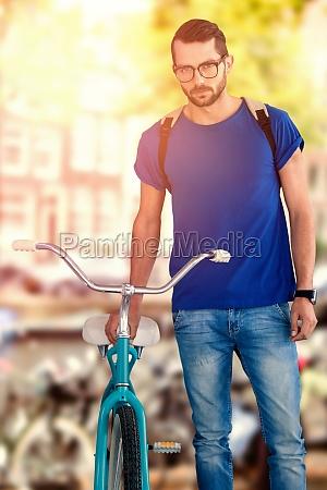 azul ciudad moda estilo de vida