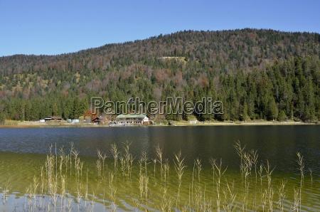 alpes de agua dulce lago agua