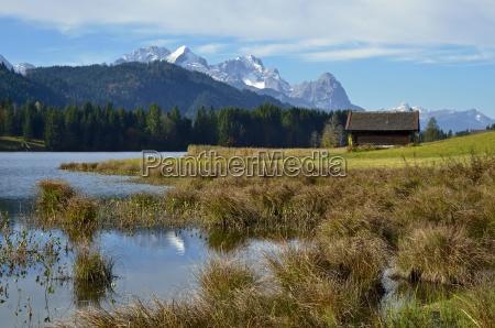 wagenbr chsee en las montanyas wetterstein