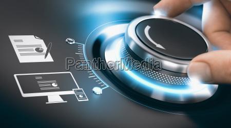 proceso de transformacion digital digitalizacion de