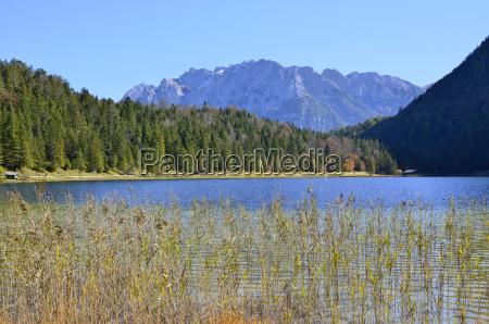 alpes baviera de agua dulce lago