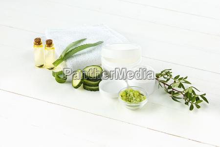 pepino y aloe crema cosmetica cara