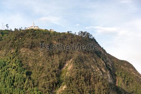 monserrate church in bogota