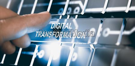 digitalizacion concepto de transformacion digital