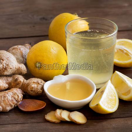 tonico de miel limon y jengibre