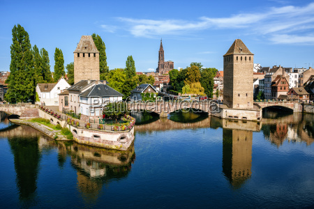 france strasbourg the old towers of
