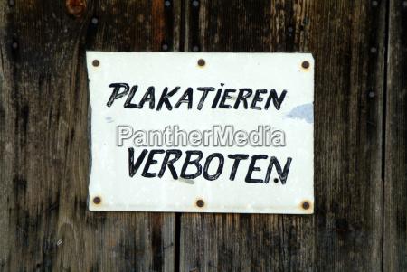 senyal cartel senyales prohibiciones prohibicion signo