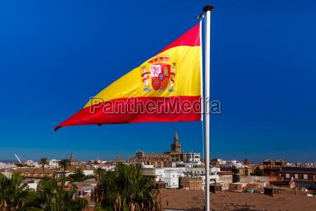 montjuic hill in barcelona catalonia spain