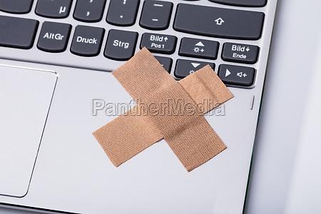 portatil computadoras computadora ordenador teclado cruz