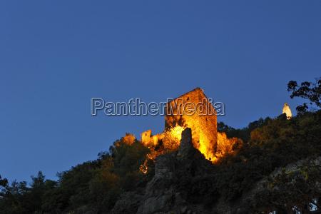 watchtower durnstein wachau niederosterreich austria europe