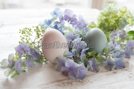 easter decoration in vintage style