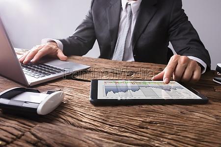 stock market broker analisis grafico en