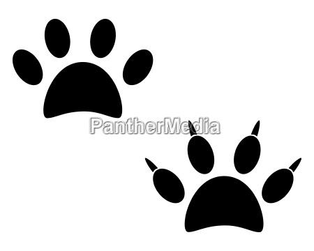 senyal opcional grafico animal mascotas negro