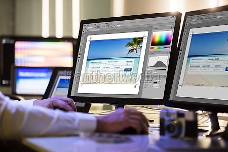grafico camara pantalla fotografia disenyador foto