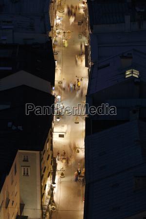 ciudad por la noche noche austria