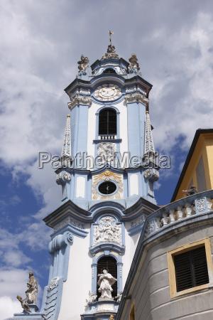 church tower of the collegiate church