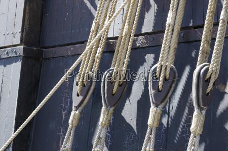 algunos detalle barcos velero barco con