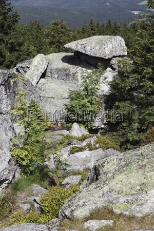 piedra cumbre europa rocas rock baviera