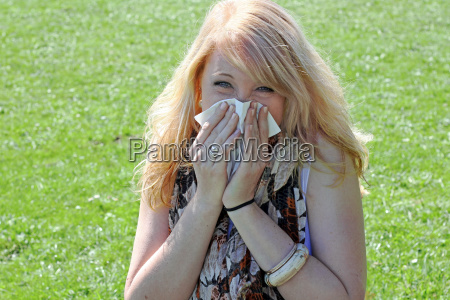 hay fever allergy with cold and