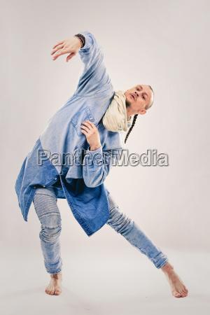 bailarina de hip hop contemporanea masculina