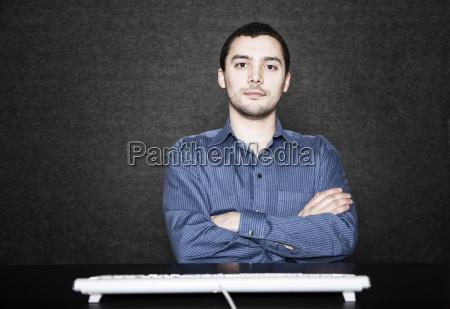 studio, portrait, of, hispanic, man, actor - 24711962