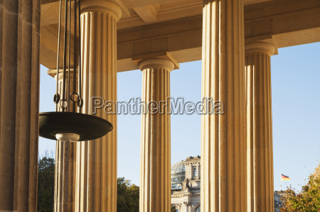 alemania berlin columnas de brandenburger tor