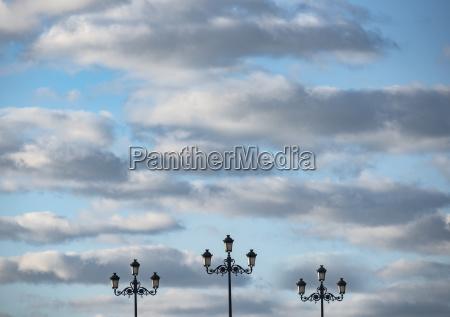 nube espanya horizontalmente al aire libre