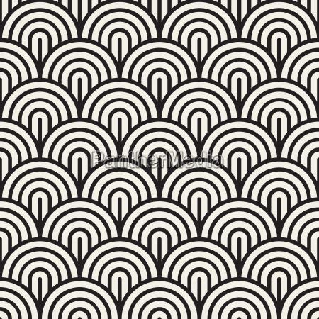 grafico moderno arco negro ornamento simetria