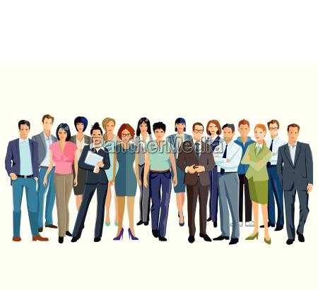reunion de personas y asociacion