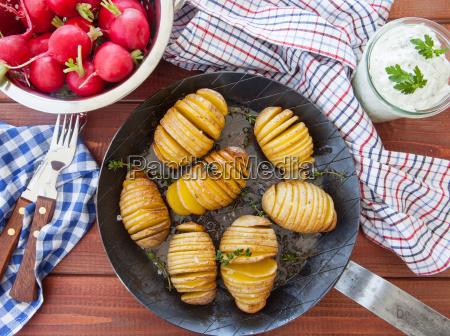 patatas faecher rusticas