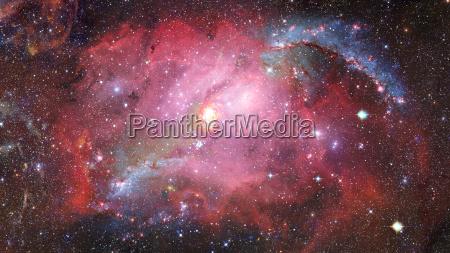 galaxia espiral en el espacio elementos
