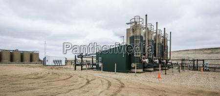 plataforma de produccion de petroleo sobre