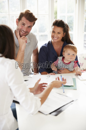 asesor financiero para la reunion de