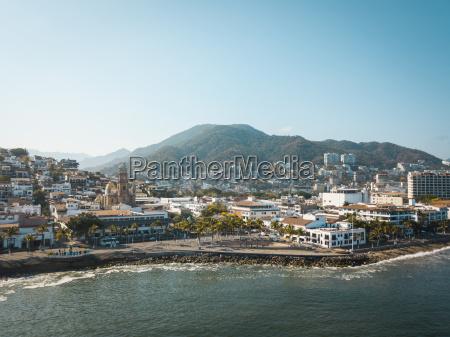 mexico jalisco puerto vallarta old town