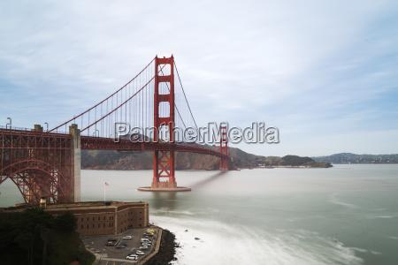 paseo viaje puente nube eeuu california