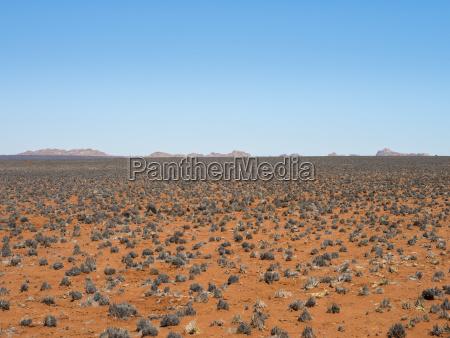 paseo viaje horizonte desierto africa namibia