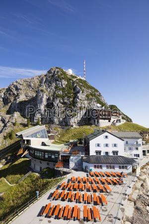 ocio montanyas alpes cumbre europa baviera
