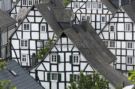 vista de la alte flecken casas