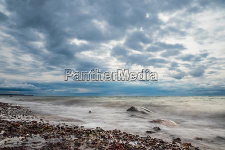 the coast of the baltic sea