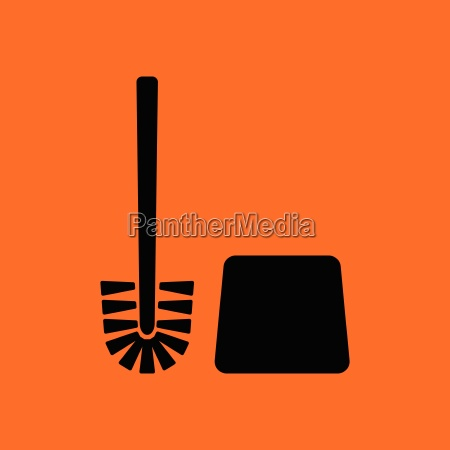 toilet brush icon