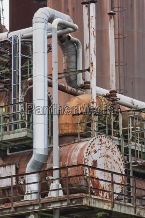 paseo viaje detalle famoso industria industrial