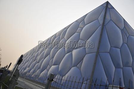 azul anyo de construccion moderno pared