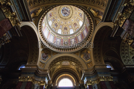 cupola of st stephens basilica budapest
