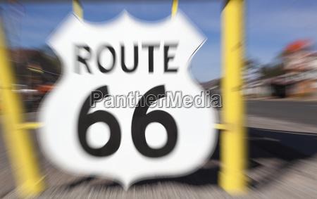 ruta 66 en seligman arizona a