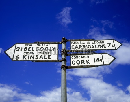 poste indicador en belgooly county cork