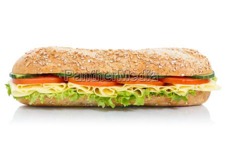 rollos de baguette sandwich integral con