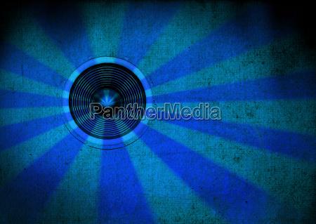 azul altavoz
